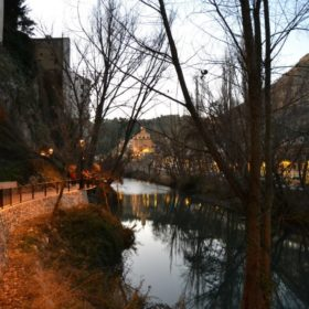 Río Júcar en Cuenca