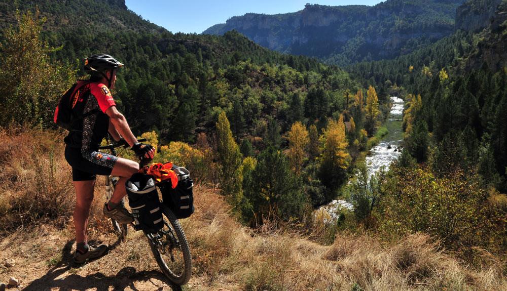 Cuenca en bici MTB