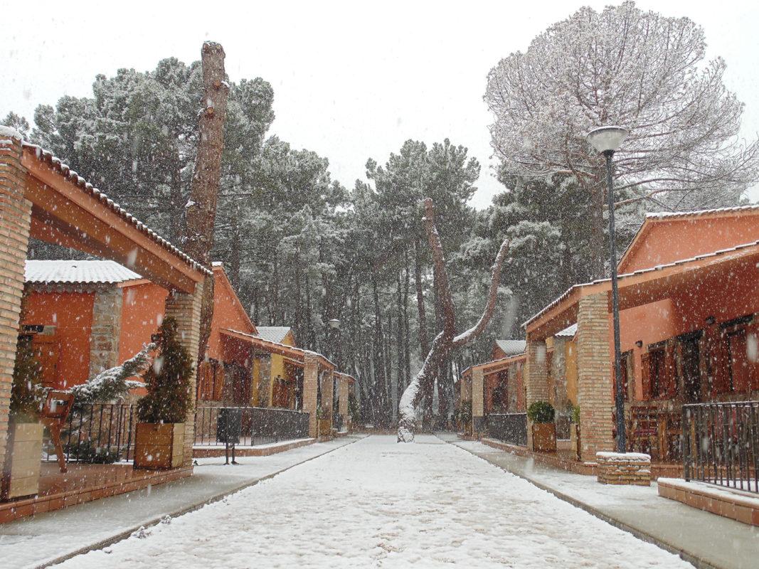 Cabañas en Cuenca Nevadas