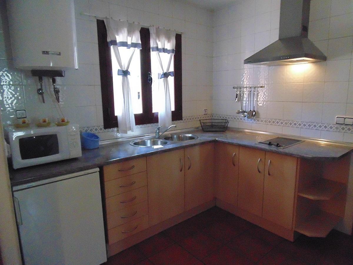 Cocina cabaña en Cuenca