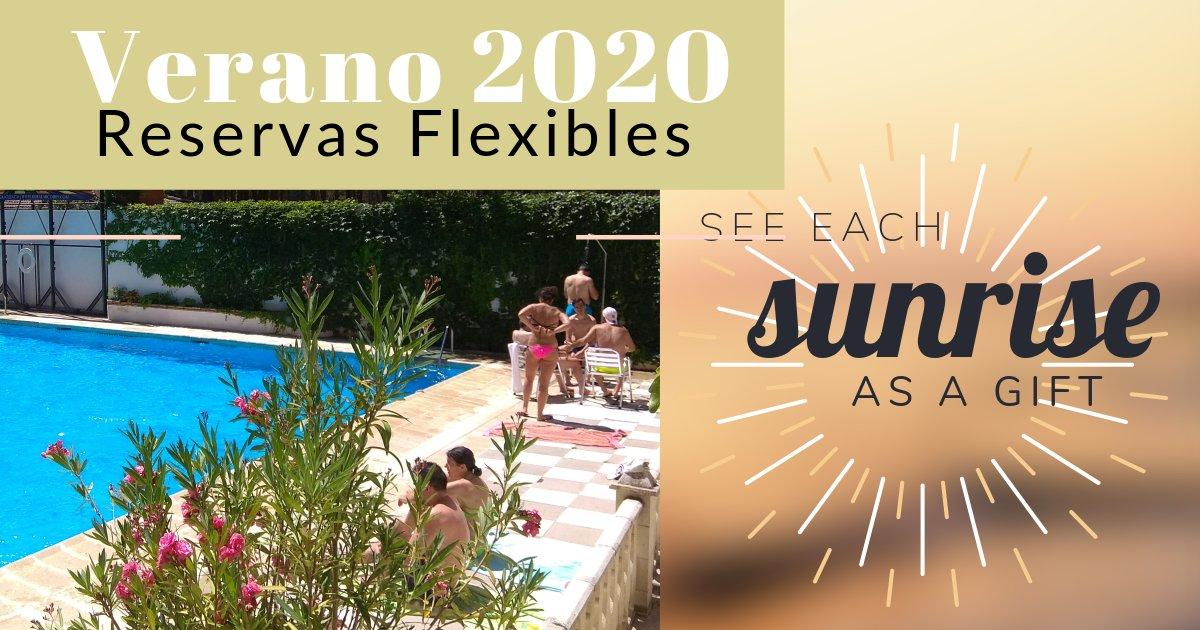 Verano 2020 Reservas Flexibles